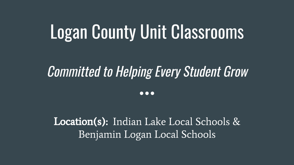 Logan County Unit - Slide 1